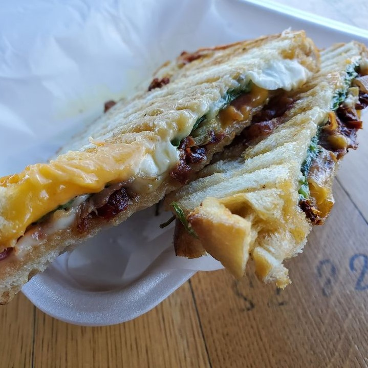 We customize the paninis to your liking, check the menu for all alternative options.